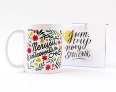 Dělej, co miluješ, miluj, co děláš - Chaukiss Mugs, Tableware, Dinnerware, Tumblers, Tablewares, Mug, Dishes, Place Settings, Cups