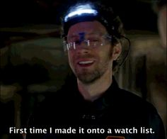 """Stay freaky, Hodgins. 