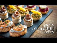 Coisas que Gosto: Canapés en 15 minutos en recetas de comida faciles...