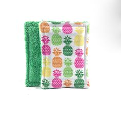 100% Cotton Washable Sponge Set of 2 by LaughingDevilDesigns