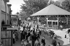 Courtesy  |  Utah State Historical SocietyCrowds at Lagoon Amusement Park in Farmington. June 17, 1937.