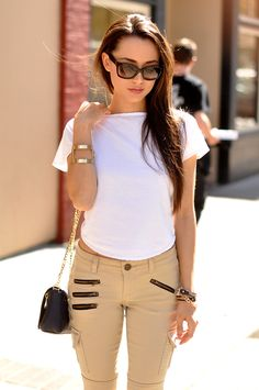 HapaTime Is Wearing Alloy Denim Jeans, Hapiru top, Pour La Victoire Bag And Prada sunglasses