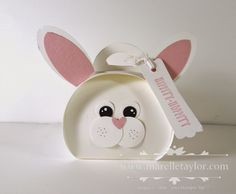 Marelle Taylor Stampin' Up! Demonstrator Sydney Australia: Curvy Easter Bunny