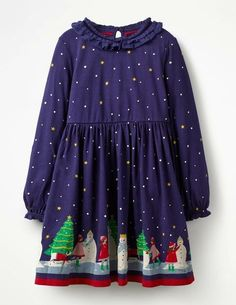 b9dc260eb1 Buy the Ruffle Neck Festive Dress now for it
