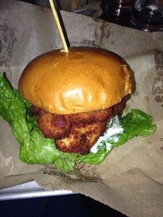 Bareburger Chicken Burger