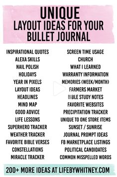 Discover 366 actionable ideas for your bullet journal - one for each day of the 2020 Leap Year (+13 bonus ideas). These battle-tested ideas are the absolute best... #bulletjournal #bulletjournallayout