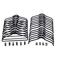 Joy Mangano 34-pc. Huggable Hangers® Combo Pack - Black Huggable Hangers http://www.amazon.com/dp/B00JS584D8/ref=cm_sw_r_pi_dp_DQeUub001W7HP