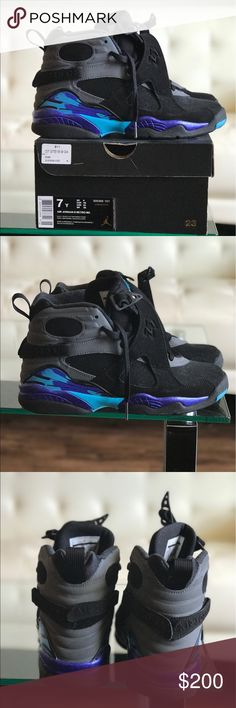 Air Jordan 8 Retro I'm selling my air Jordan 8 retro sneakers, only worn twice and in excellent condition. Air Jordan Shoes Sneakers