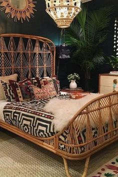 Boho home interior design to inspire you in creating a beautiful and cozy home that reflects your creativity. // boho home interior living rooms / Bohemian House decor diy / Bohemian House decor apartment therapy / dream bedroom ideas for women Bohemian Bedroom Decor, Bohemian Living, Gypsy Living, Boho Decor, Bohemian Gypsy, Bohemian House, Bohemian Interior, Deco Boheme, Design Blog