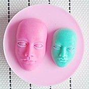 Head Fondant Cake Chocolate Resin Clay Candy ... – USD $ 5.99
