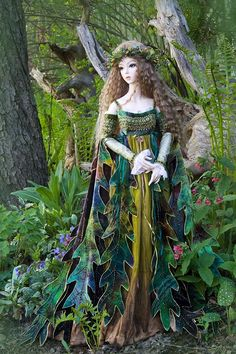 Martha Boers is an immensely talented seamstress and doll costume designer.