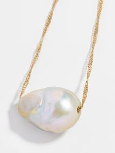 Aprille Pearl Pendant Necklace   BaubleBar