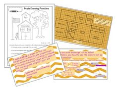 math worksheet : 1000 images about math scale drawings on pinterest  geometry  : Maths Scale Drawing Worksheets
