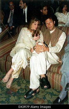 Jemima and imran khan Jemima Goldsmith, Reham Khan, Imran Khan Pakistan, History Of Pakistan, Classy People, Princesa Diana, Living Legends, Great Leaders, Sports Stars