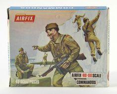 Airfix commandos