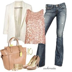 Absolutely LOVE this!!!!  Chic + Girly + Sparkle =  ME!!!