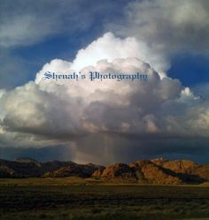 8x10 print of a Rain Cloud that looks like a by ShenahsPhotography, $25.00