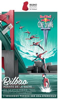 El espectacular vídeo de presentación del Red Bull Cliff Diving 2014 de Bilbao