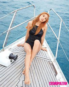 "koreanmodel: "" Sistar's Bora by Hwang Hye Jung for Cosmopolitan Korea June 2015 "" South Korean Girls, Korean Girl Groups, Sistar Kpop, Sistar Soyou, Asian Woman, Asian Girl, Yoon Bora, Beach Body Ready, Choi Siwon"