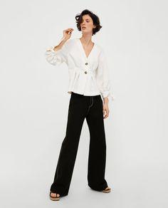 Imagem 1 de BLUSA COM PREGAS da Zara