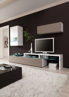Amsterdam Combination-11215 Modern Wall Unit by Creative Furniture