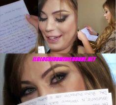 Alessia Cammarota e la lettera di Aldo che l'ha fatta commuovere al punto di farla piangere