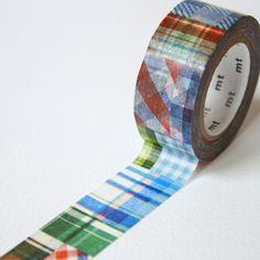 Tartan Patchwork Washi Tape