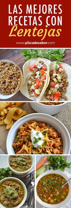 Lentils: its benefits, properties and delicious recipes - Pinch of Flavor - DrNatalie Vegetarian Recepies, Lentil Recipes, Bean Recipes, Vegetable Recipes, Healthy Cooking, Healthy Eating, Healthy Recipes, Mexican Food Recipes, Yummy Food