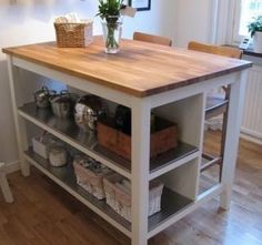 good base for rolling kitchen island - Google Search