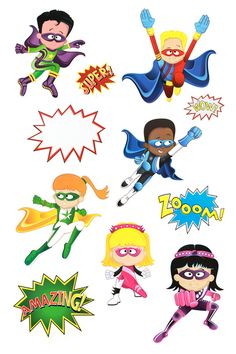 Welcome Superheroes! Bullying Bulletin Boards, Superhero Bulletin Boards, Kindergarten Bulletin Boards, Superhero Classroom Theme, Classroom Walls, Classroom Themes, Superhero Cutouts, Paper Hearts, Learning Centers