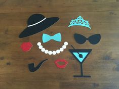 Breakfast at Tiffany's Inspired Photo Booth Props 9 by MonroeAndCoShop