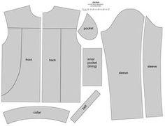 70+ BJD male jacket by ~scargeear on deviantART