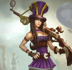 caitlyn cosplay hat - Google Search Tips for League of legends so hot