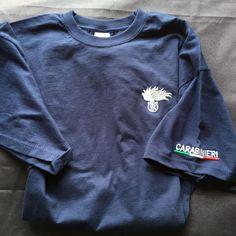 T-shirt Carabinieri con filo Argento Tg. XXL