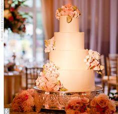 Handmade Sugar Flower Cake