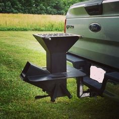 Grilling out while climbing. The Watchman Stove