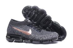 674a2222d4c31 Cheap Wholesale NikeLab Air VaporMax Flyknit Running Mens Gold Grey Black -  China Wholesale Nike Shoes