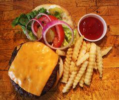 Char-Broiled Cheese Burger: Angus Chuck Steak Burger