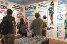 Lisboetas - Sardinhas à solta em Lisboa. Galeria Millenium,...