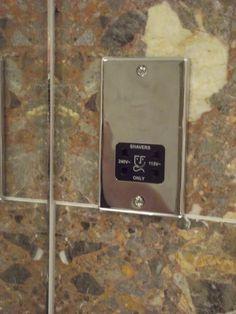 Mirror chrome shaver point.  http://www.ppmsltd.co.uk