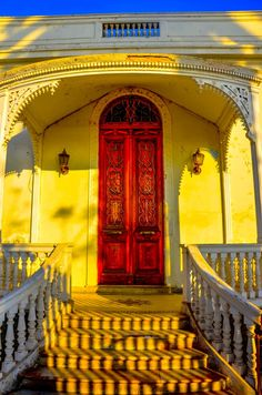"""500px / Photo """"Victorian Entrance """" by Chris Taylor A beach house in Callao Peru."""