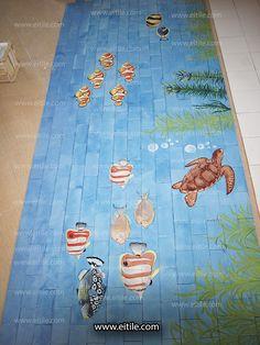 """Design, manufacture and installation of Iranian handmade swimming pool ceramic tiles"" Picnic Blanket, Outdoor Blanket, Swimming Pool Tiles, Ceramic Design, Knowledge, Kids Rugs, Ceramics, Home Decor, Ceramica"