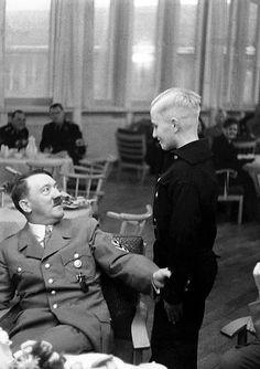 """putschgirl: """"1938. Amazing Hitler photo. """""""