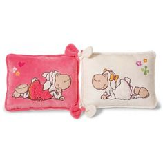 NICI Jolly Amy and Frances Sheep Double Cushion 48433d0fa3