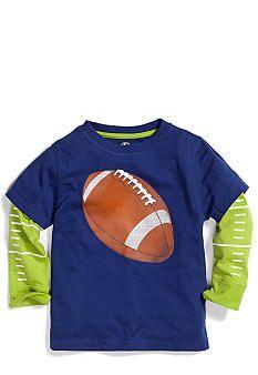 J Khaki� Novelty Crew Long Sleeve Shirt Toddler Boys