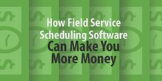 field service scheduling software The goal of scheduling software is to use up all the free time you have, and to get paid for that use. To do that, you need to make sure you both plan out your time and track it. Scheduling software helps with each of these goals.  Today, scheduling packages come with more than just fancy day planners. Many have built in CRMs, invoicing features, and – my favorite – mapping abilities.   Read More!