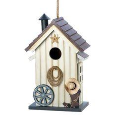 Western Barn Birdhouse - $16.95