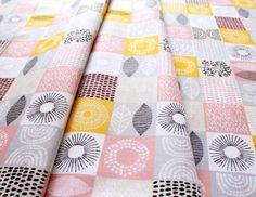 Cloud9 Fabric Shape of Spring Spring Scrapbook Petal Pink
