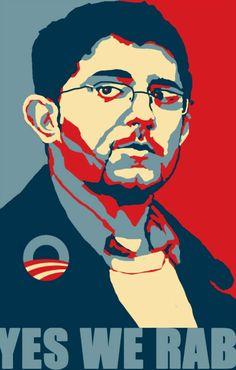 Diseño gráfico. Parodia de cartel electoral.