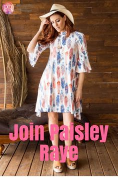 Paisley Raye is an exciting new direct sales clothing company!  Do you think it might be the right fit for you?  I'd love to talk to you more about it!
